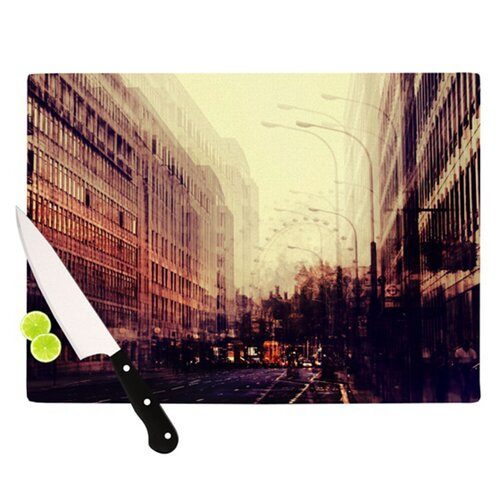 KESS InHouse London Cutting Board