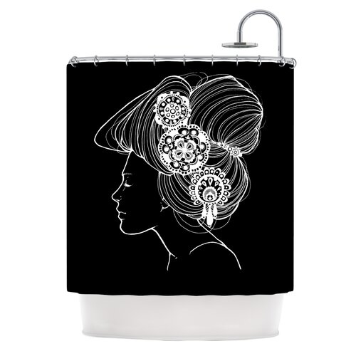 Organic Polyester Shower Curtain
