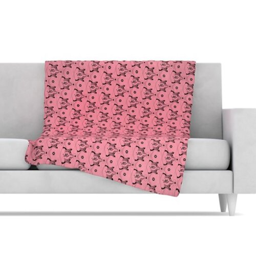 Hummingbird Fleece Throw Blanket