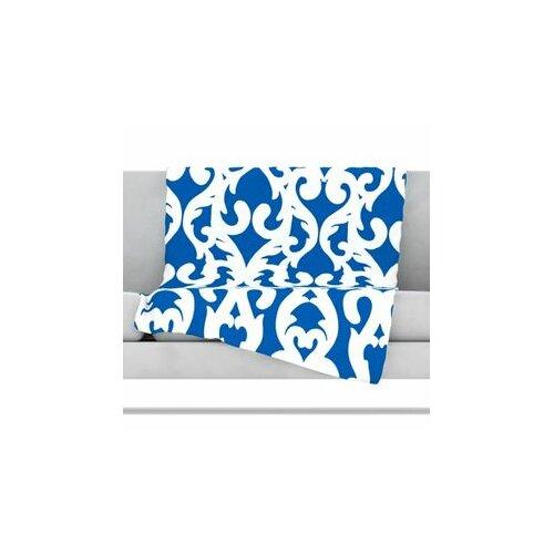 KESS InHouse Modern Baroque Microfiber Fleece Throw Blanket
