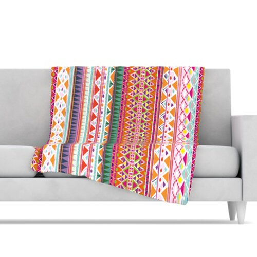 KESS InHouse Chenoa Fleece Throw Blanket