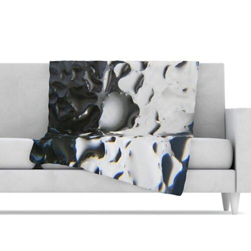KESS InHouse Window Fleece Throw Blanket