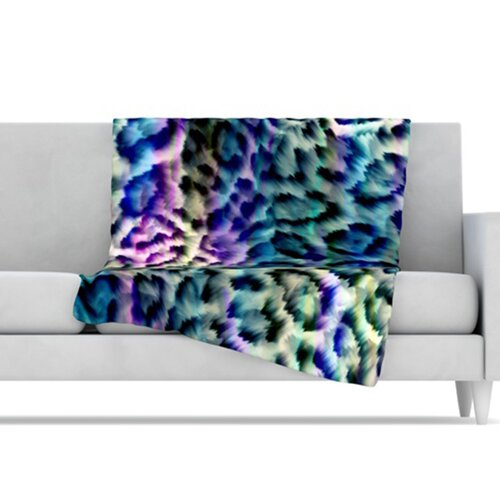 Wild Microfiber Fleece Throw Blanket