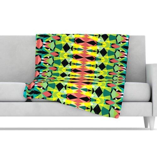 Triangle Visions Microfiber Fleece Throw Blanket
