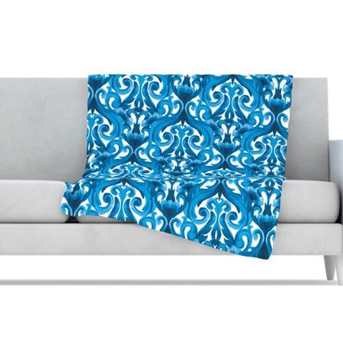 Intertwined Microfiber Fleece Throw Blanket