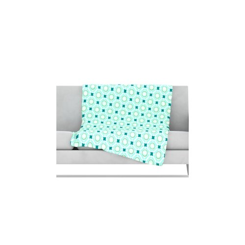 KESS InHouse Tossing Pennies I Microfiber Fleece Throw Blanket