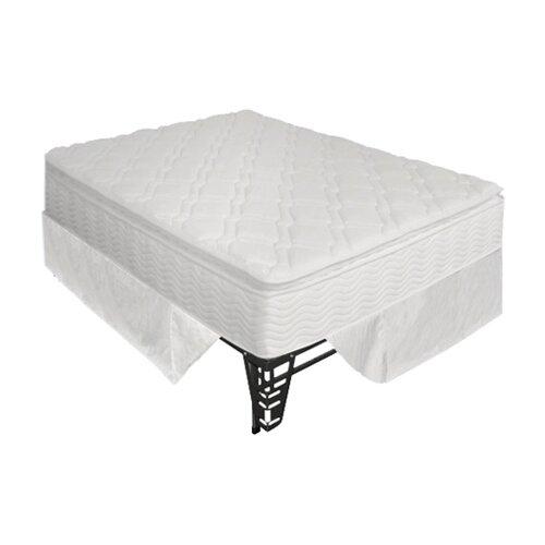 "Sleep Revolution OrthoTherapy 13"" Euro Box Top iCoil Mattress and Steel Foundation Set"