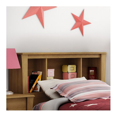 South Shore Jumper Twin Bookcase Storage Headboard