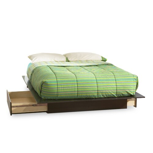 South Shore Back Bay Queen Size Platform Bed