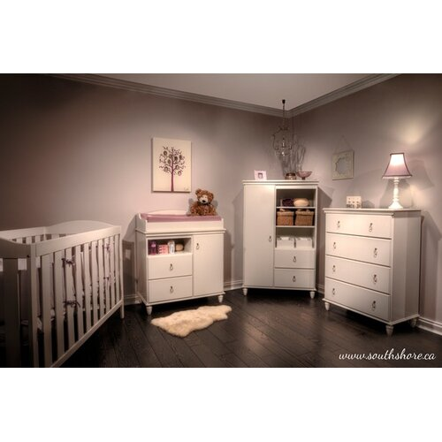 South Shore Moonlight Changing Table