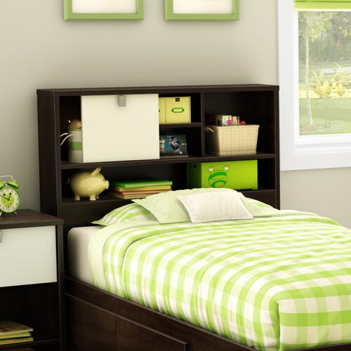 South Shore Cookie Twin Bookcase Headboard