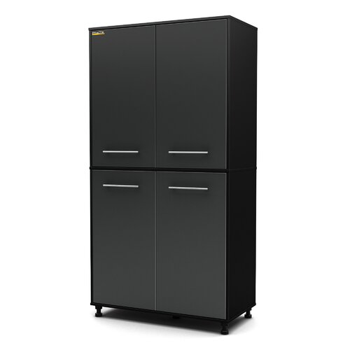 "South Shore Karbon 76"" H x 39.5"" W x 19.5"" D Storage Cabinet"