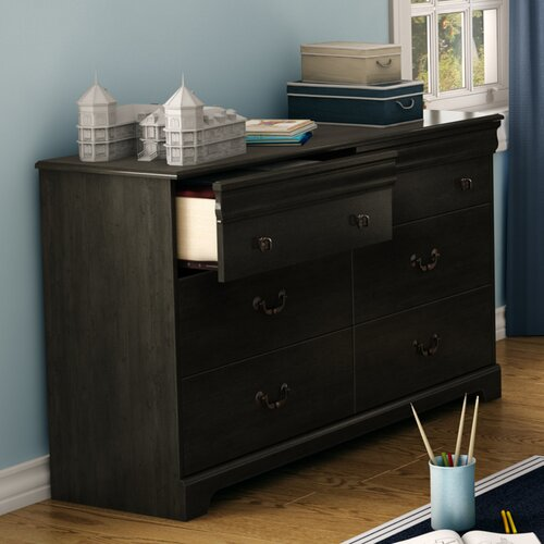 South Shore Quilliams 6 Drawer Dresser