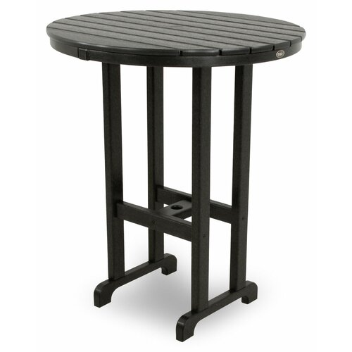 Trex Outdoor Trex Outdoor Monterey Bay Round Bar Table