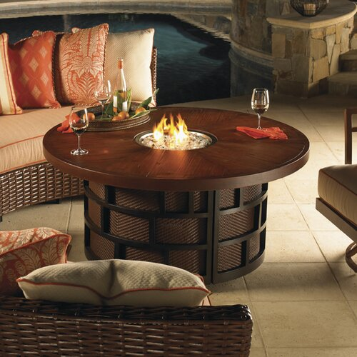 Tommy Bahama Outdoor Ocean Club Resort Fire Pit Table