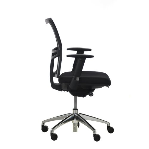 Synergie Landmark Mid Back Ergonomic Mesh Task Chair with Arms