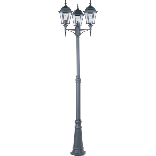 Wildon Home ® Baytowne 3 - Light Outdoor Pole/Post Mount