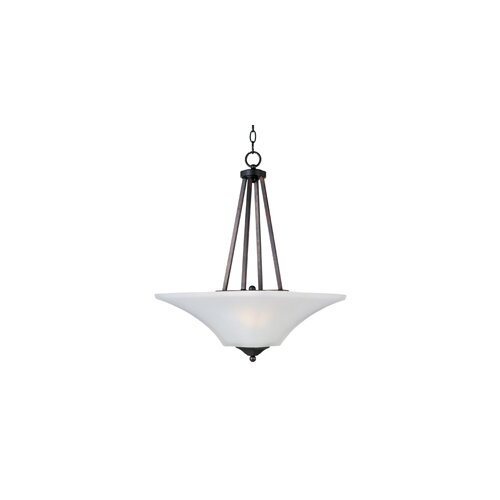 Wildon Home ® Alvaro 2 - Light Invert Bowl Pendant