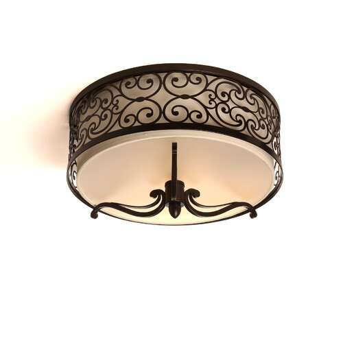 Wildon Home ® Timbora 2 - Light Flush Mount
