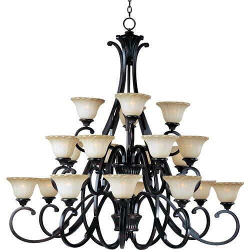 Wildon Home ® Schubert 20 - Light Multi - Tier Chandelier