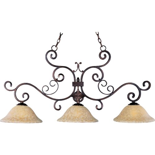 Wildon Home ® Deyna 3 - Light Island Pendant