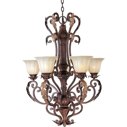 Octavio 5 - Light Single - Tier Chandelier