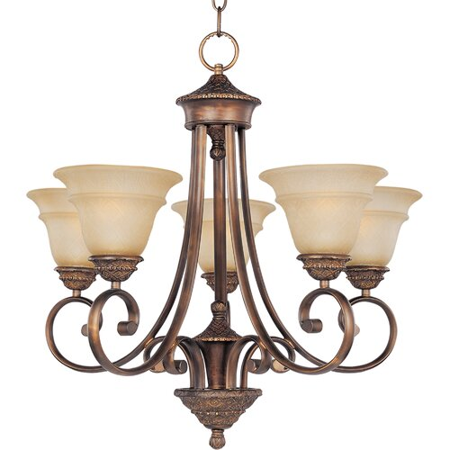 Wildon Home ® Berklee 5 - Light Single - Tier Chandelier