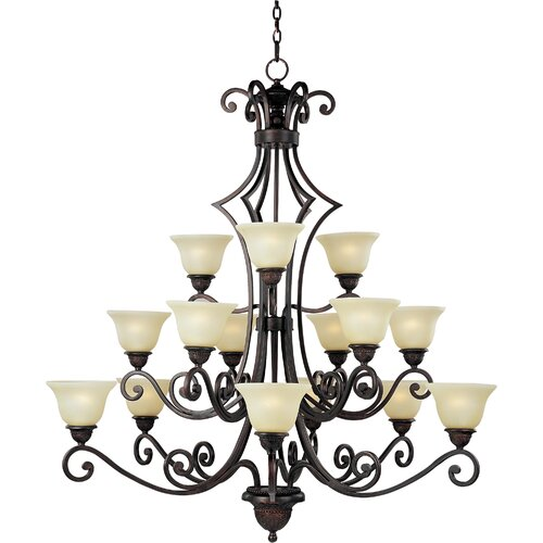 Medley 15 - Light Multi - Tier Chandelier