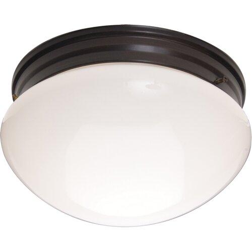 """Wildon Home ® 5"""" 2 Light Flush Mount"""