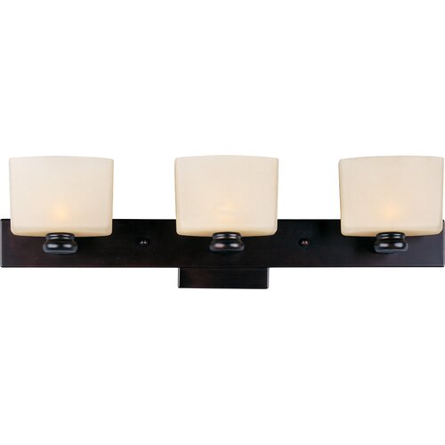 Wildon Home ® Mendelsone 3 - Light Bath Vanity