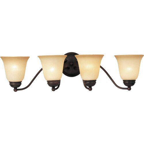 Maxim Lighting Basix ES 4 Light Vanity Light