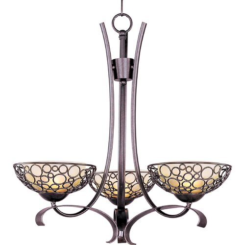 Wildon Home ® Sunata 3 - Light Single - Tier Chandelier