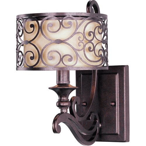 Wildon Home ® Timbora 1 - Light Wall Sconce