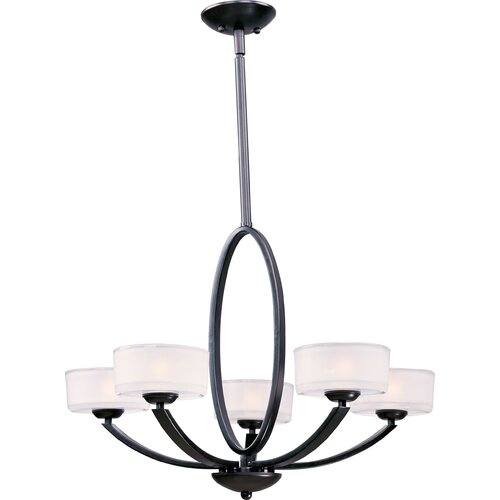 Wildon Home ® Trophic 5 - Light Single - Tier Chandelier