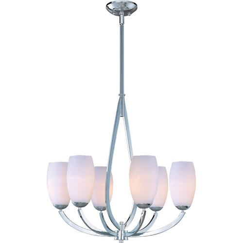 Wildon Home ® Martyno 6 - Light Single - Tier Chandelier