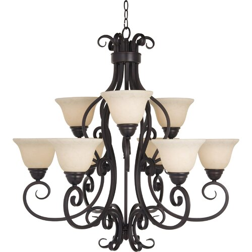 Maxim Lighting Manor 9 Light Chandelier