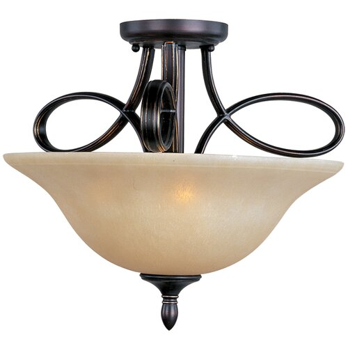Maxim Lighting Infinity 3 Light Semi Flush Mount