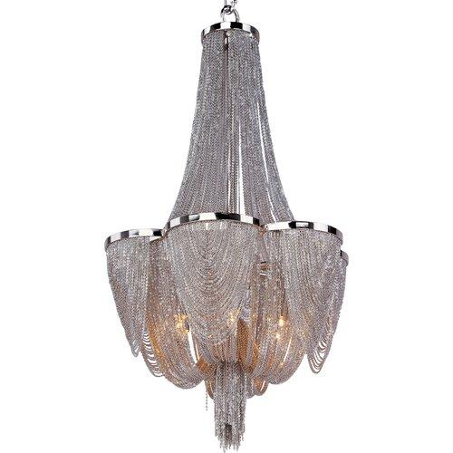 Wildon Home ® Comsan 6 - Light Single - Tier Chandelier