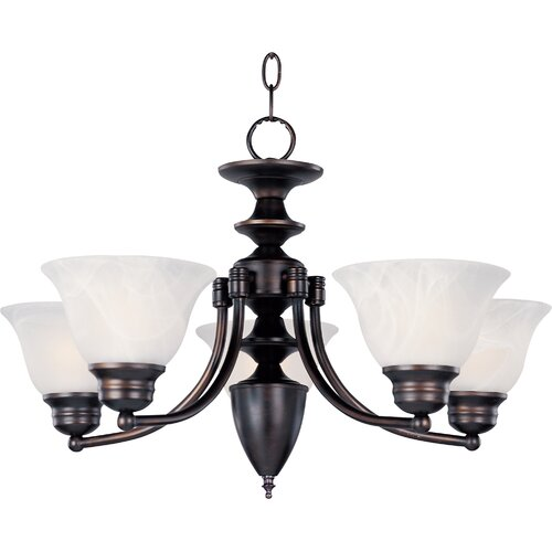 Wildon Home ® Tacet 5 - Light Single - Tier Chandelier