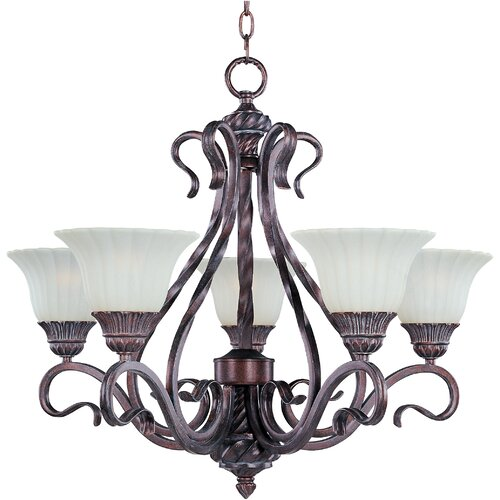 Wildon Home ® Elrikson 5 - Light Single - Tier Chandelier