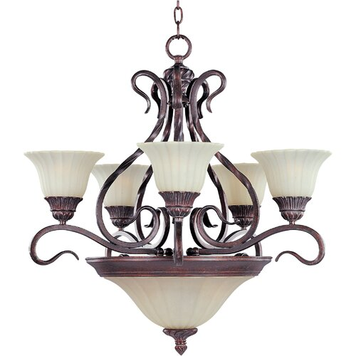 Wildon Home ® Elrikson 7 - Light Multi - Tier Chandelier