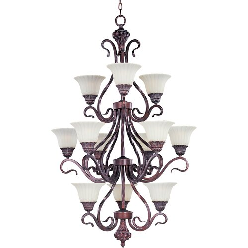 Wildon Home ® Elrikson 12 - Light Multi - Tier Chandelier