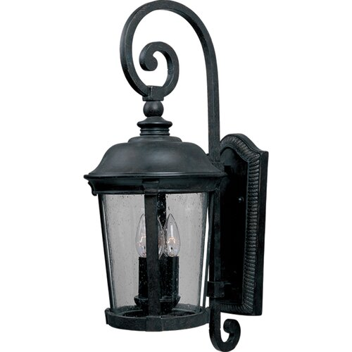 Wildon Home ® Laggos 1 - Light Outdoor Wall Mount