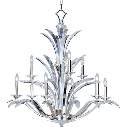 Vyal 9 - Light Multi - Tier Chandelier