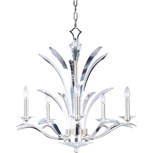 Wildon Home ® Vyal 5 - Light Single - Tier Chandelier