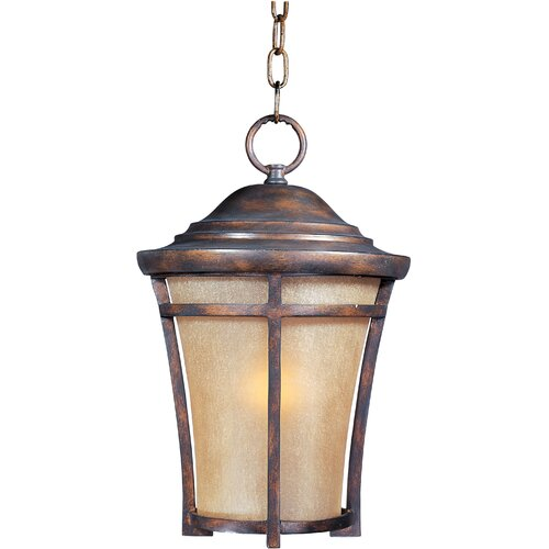 Wildon Home ® Bajo 1 - Light Outdoor Hanging Lantern