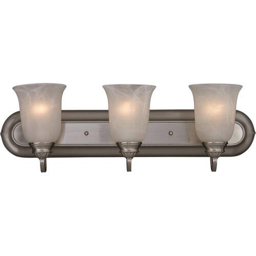 Wildon Home ® Westshire 3 - Light Bath Vanity