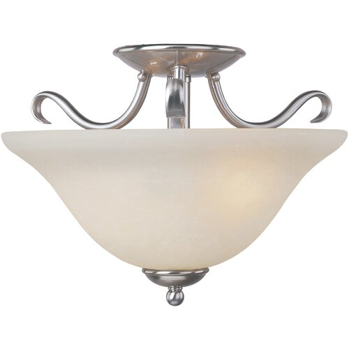 Wildon Home ® Region 2 - Light Semi - Flush Mount
