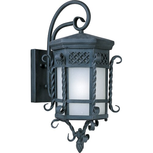 Wildon Home ® Crestgrove 1 - Light Outdoor Wall Mount