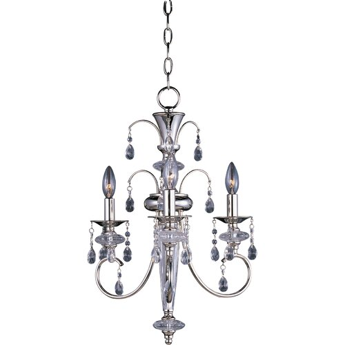 Maxim Lighting Montgomery 3 Light Mini Chandelier